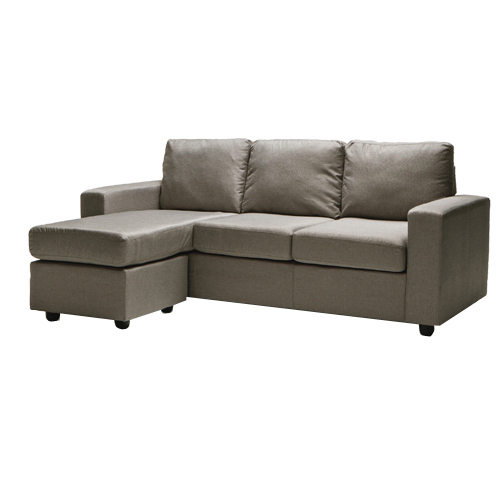 Ella 3 Seater L Shape Corner Lounge Modular Fabric Sofa