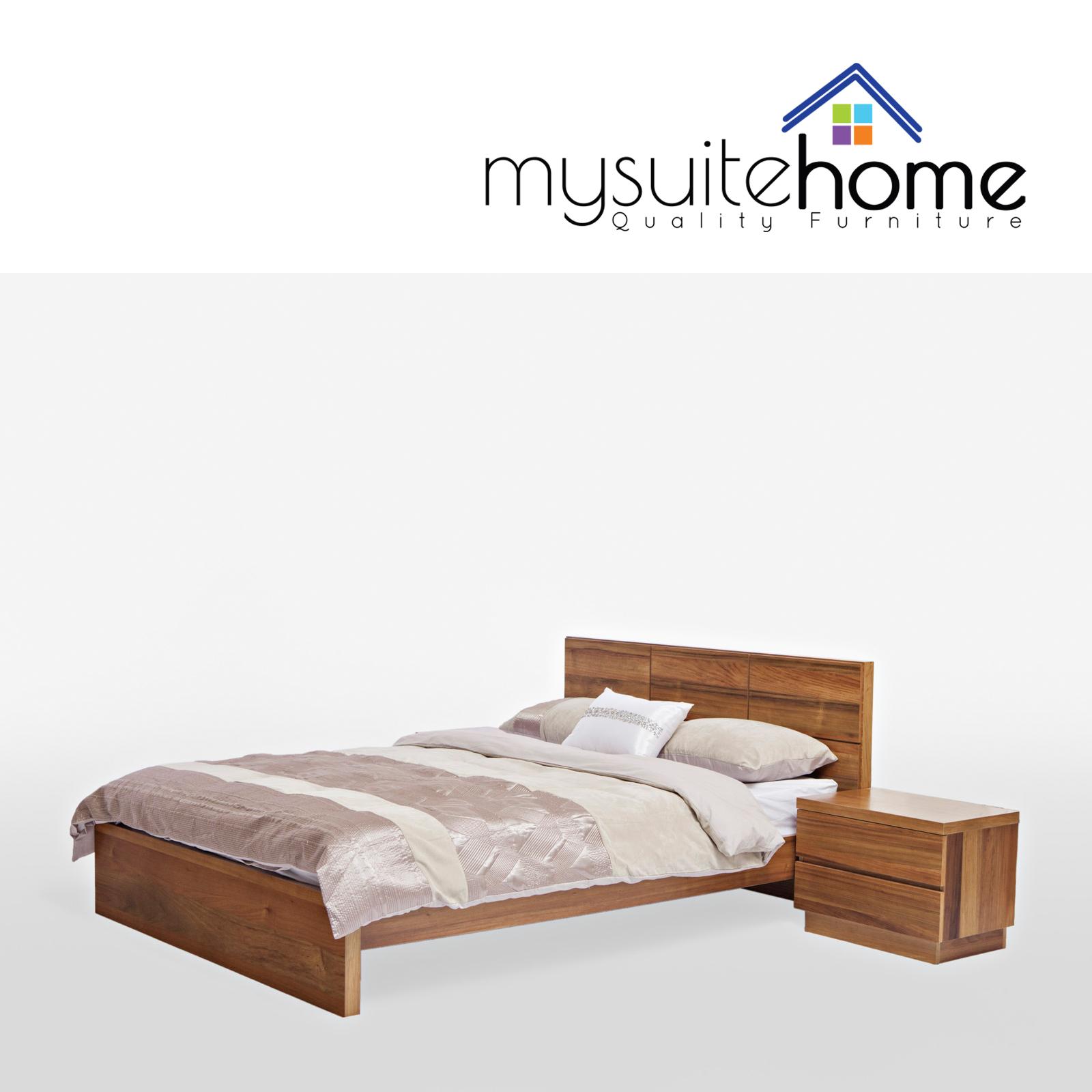 Florence Blackwood Timber Wood Veneer Size Bed Frame eBay : 10 0800814 from www.ebay.com.au size 1600 x 1600 jpeg 685kB