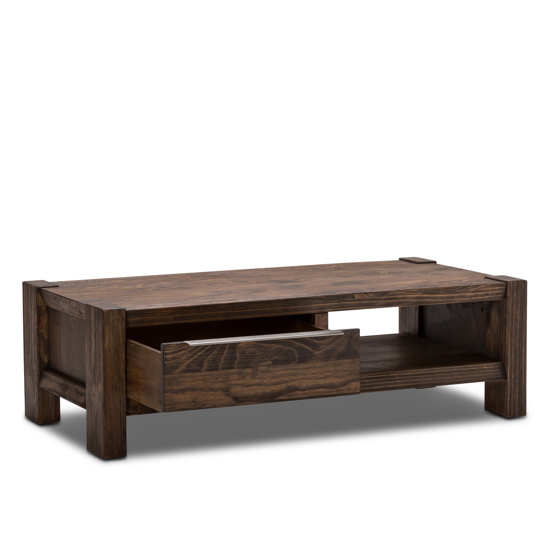 Julia brand new pine 1 storage drawer 1 shelf coffee table ebay Pine coffee table with drawers