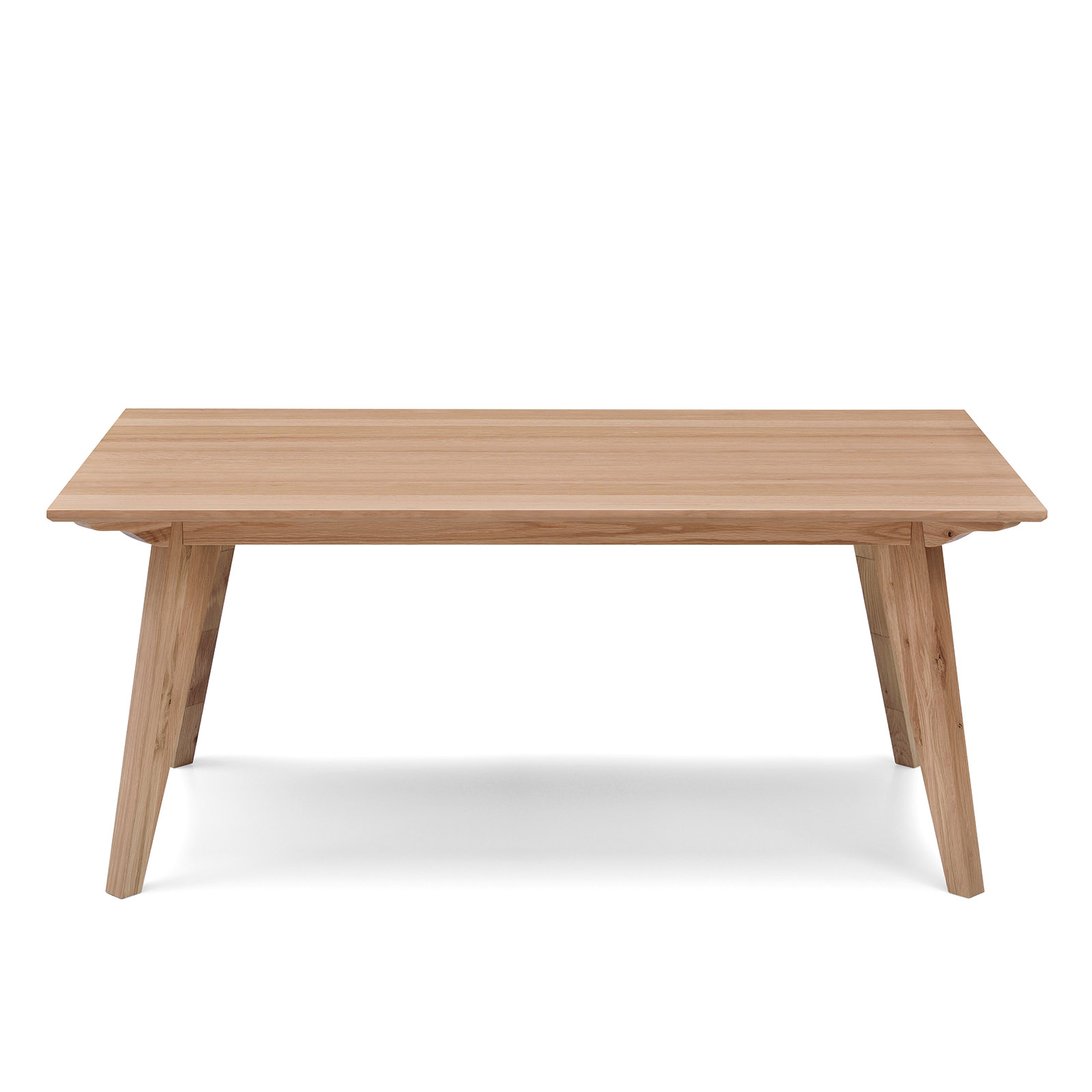 Alison White Oak Natural Veneer Dining Table Modern Design EBay