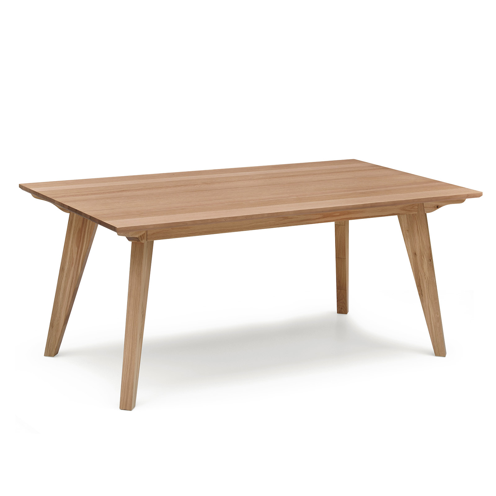 alison white oak natural veneer dining table modern design ebay. Black Bedroom Furniture Sets. Home Design Ideas