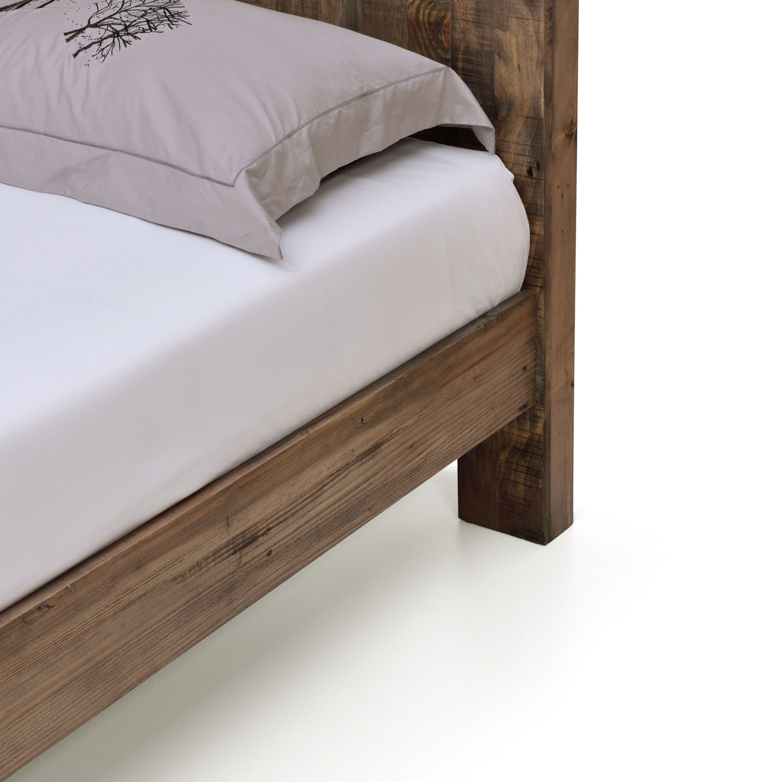 boston brand new recycled solid pine timber king - Double Size Bed Frame