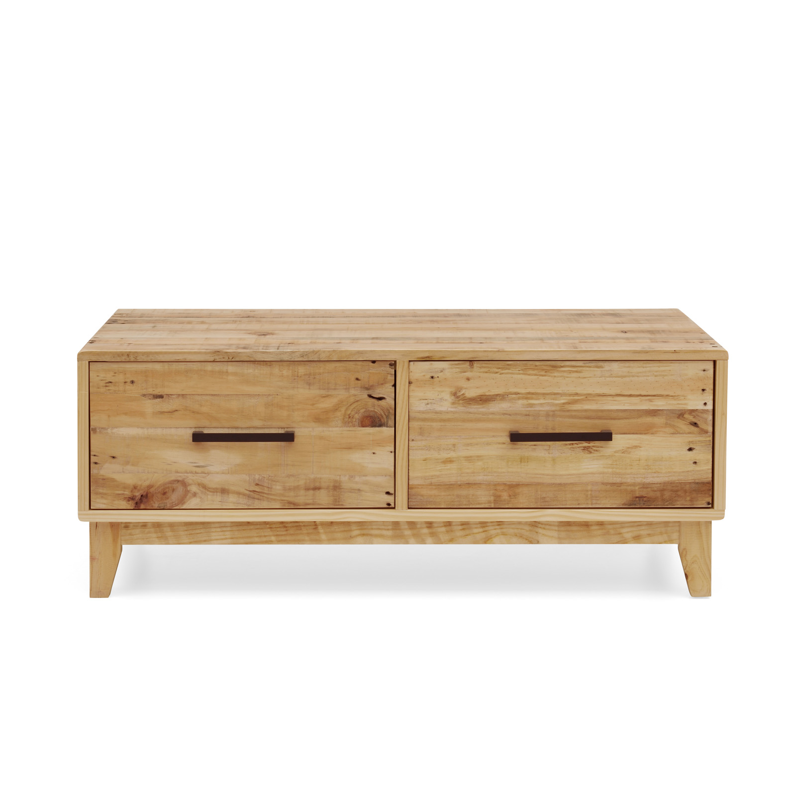Portland Brand New Recycled Solid Pine Timber Coffee Table Storage Cabinet Unit Ebay