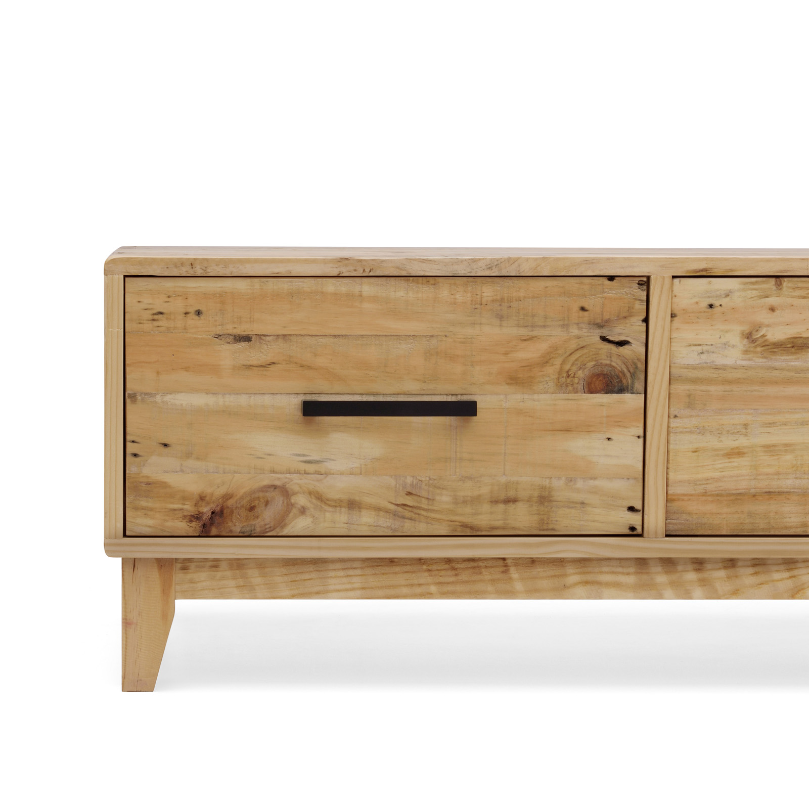 Portland Brand New Recycled Solid Pine Timber Coffee Table