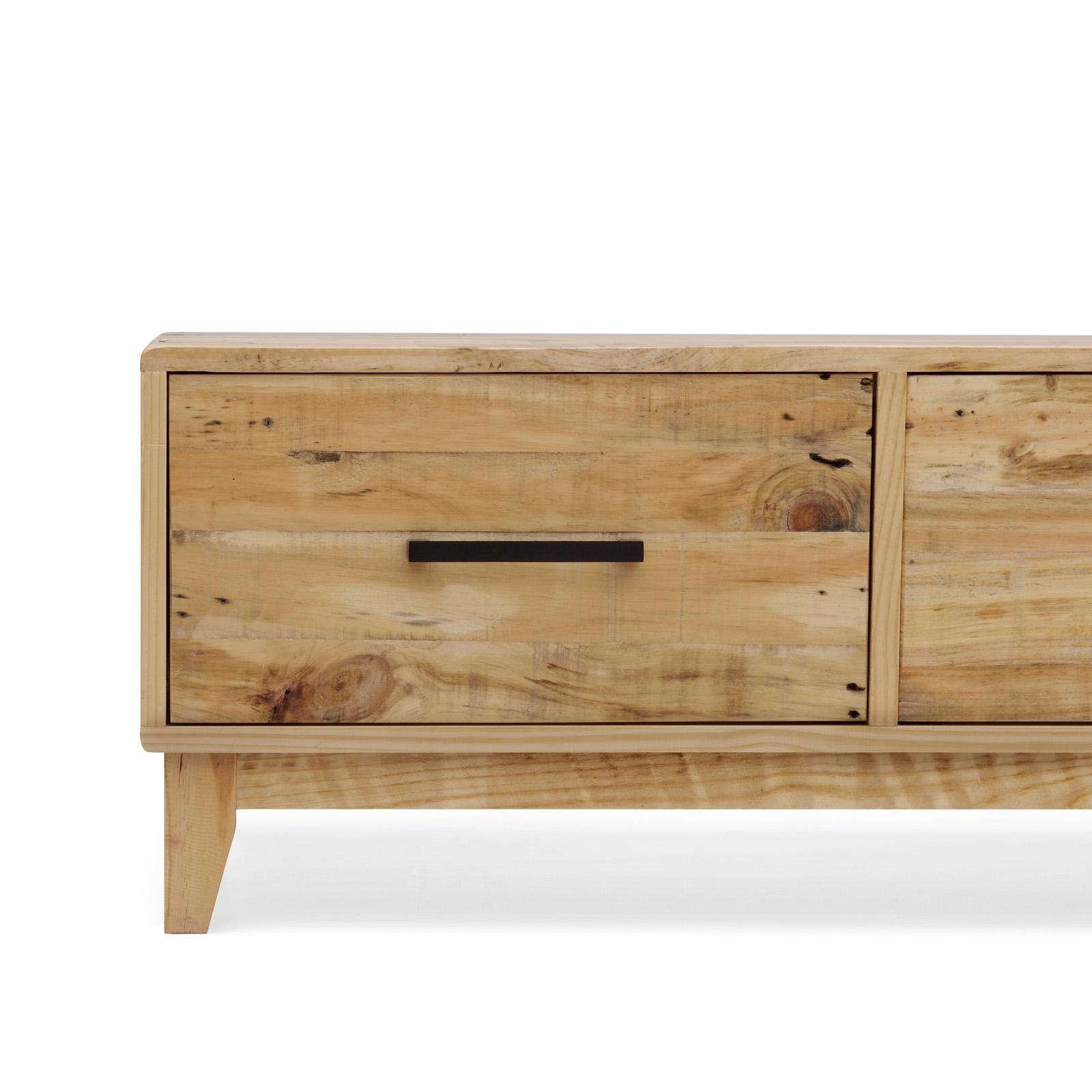Storage Coffee Table Pine