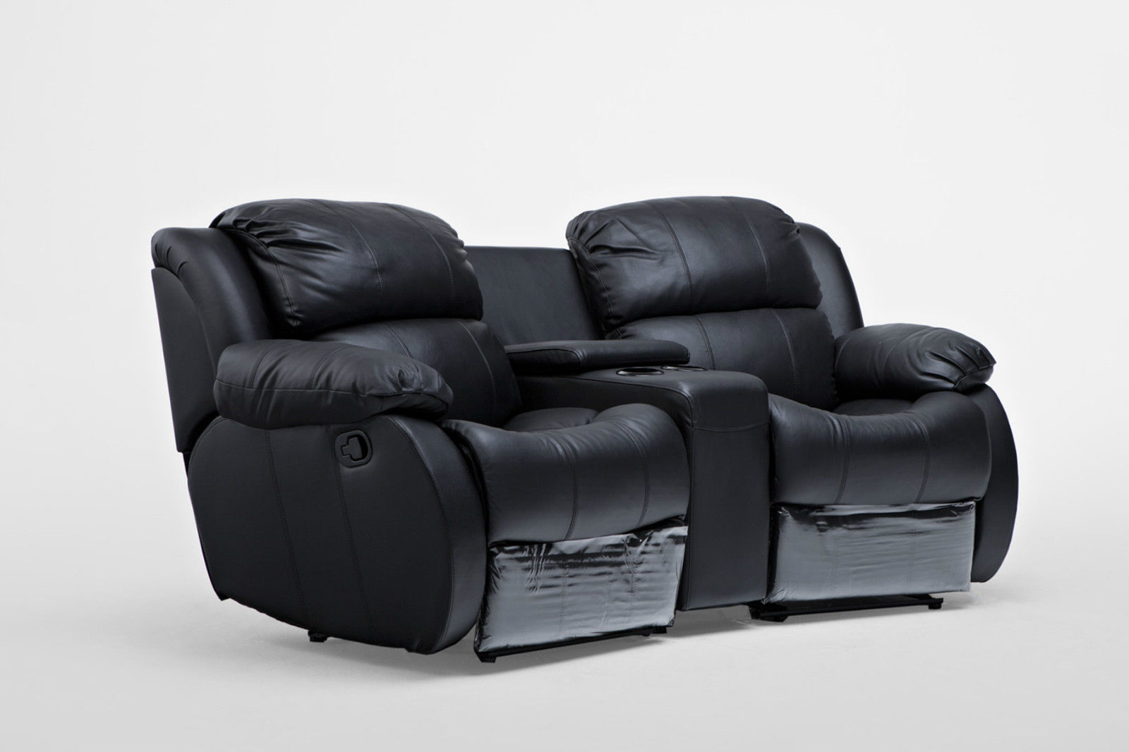 Nikki Leather 2 Seater Home Theatre Recliner Sofa Lounge  : 23 088img3 from www.ebay.com.au size 1600 x 1066 jpeg 97kB