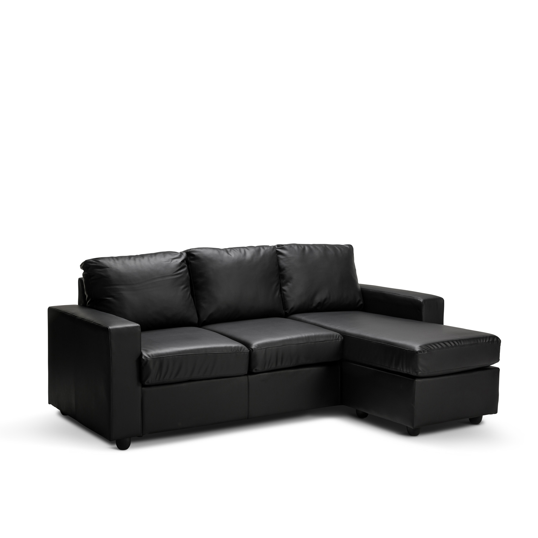 olivia new 3 seater l shape lounge black brown modular. Black Bedroom Furniture Sets. Home Design Ideas