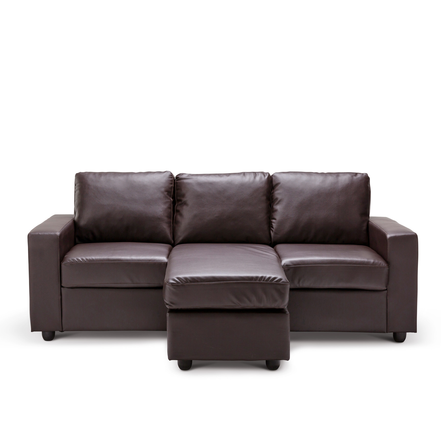 L Shaped Brown Leather Sofa Contemporary L Shaped Brown Leather Sectional Sofa With Leather L