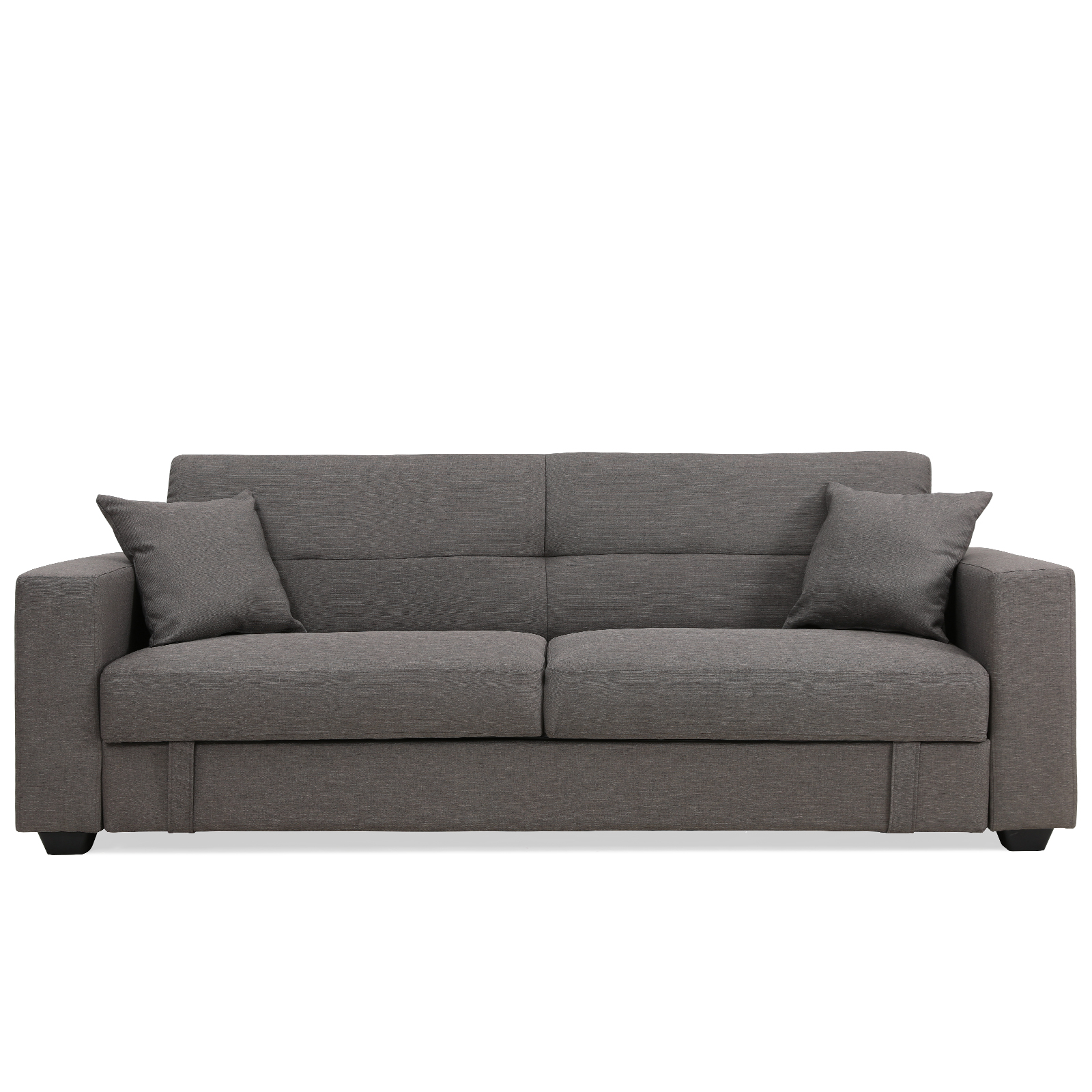 Erica Clack Contemporary Fabric 3 Seater Sofa Bed Lounge
