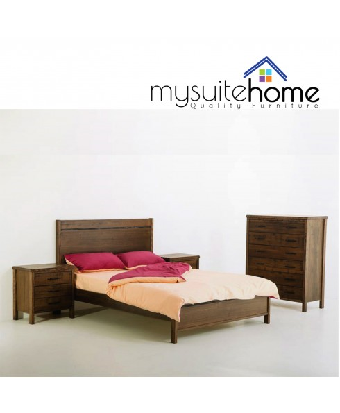 New York Brand New Tasmanian Oak Queen Size bed Frame