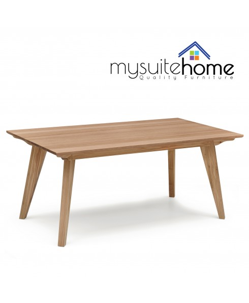 Alison White Oak 1.8m Dining Table