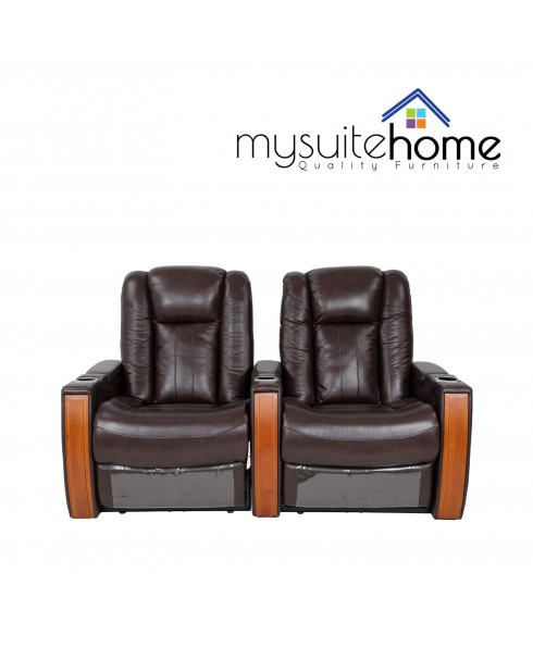 Executive Wide Seat 2 Seater Electric Recliner