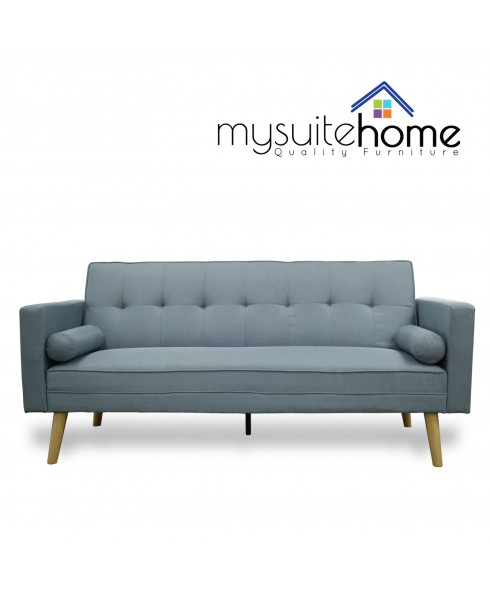 Amy Blue Click Clack Sofa Bed
