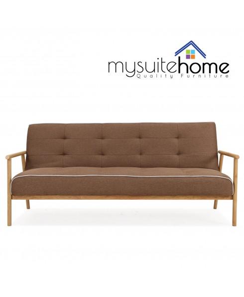 Charlotte Brown Click Clack Sofa Bed