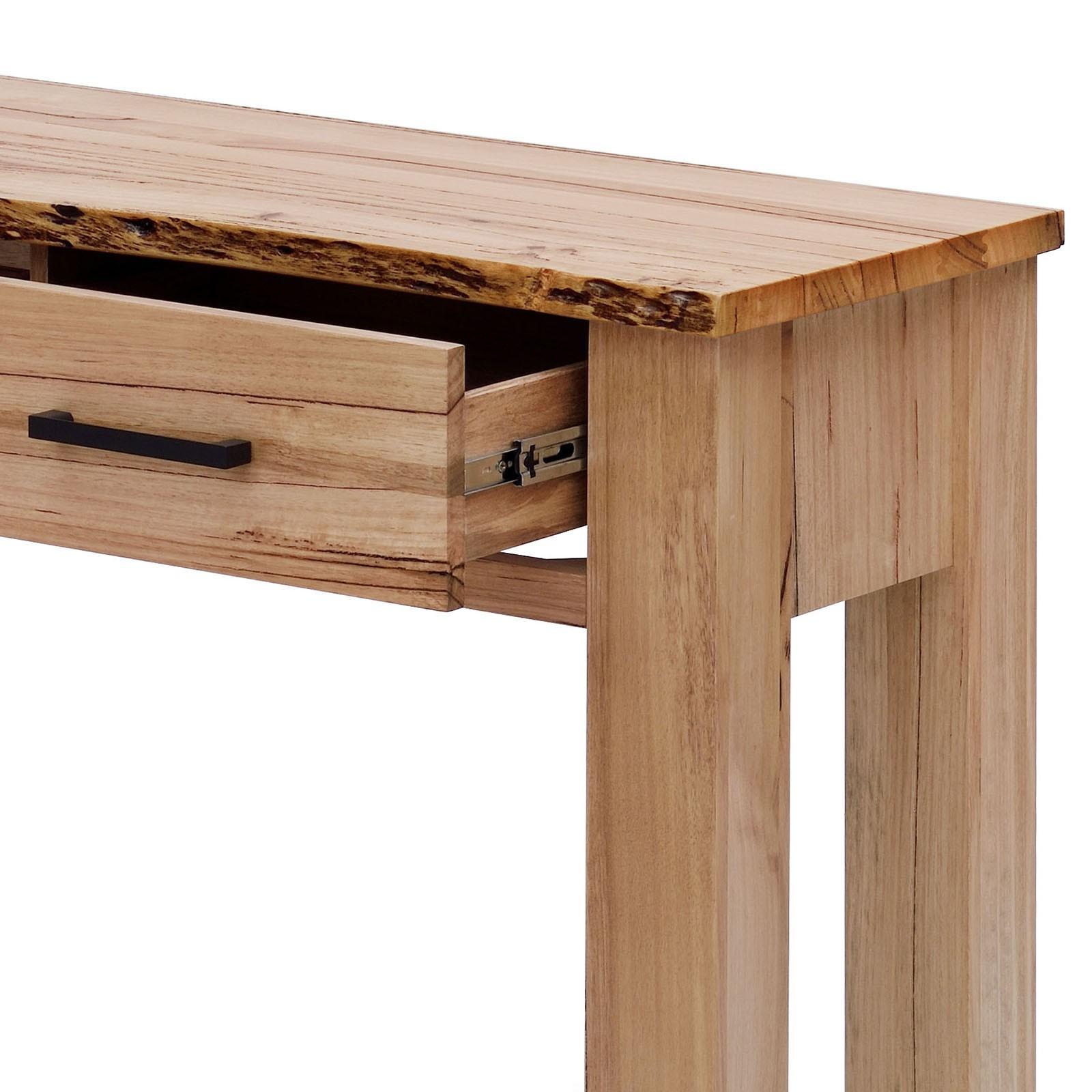 Chelsea Messmate Oak Console Table Unit