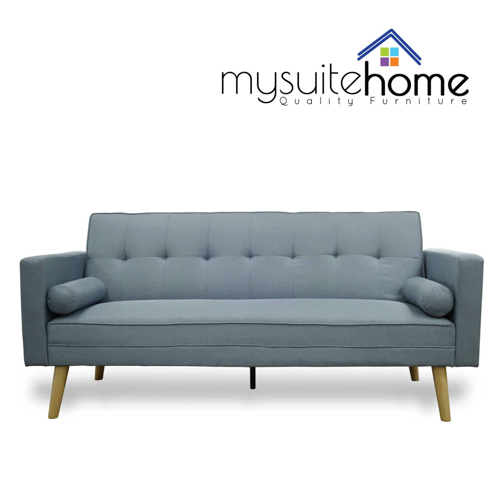 Amy Blue Click Clack Sofa