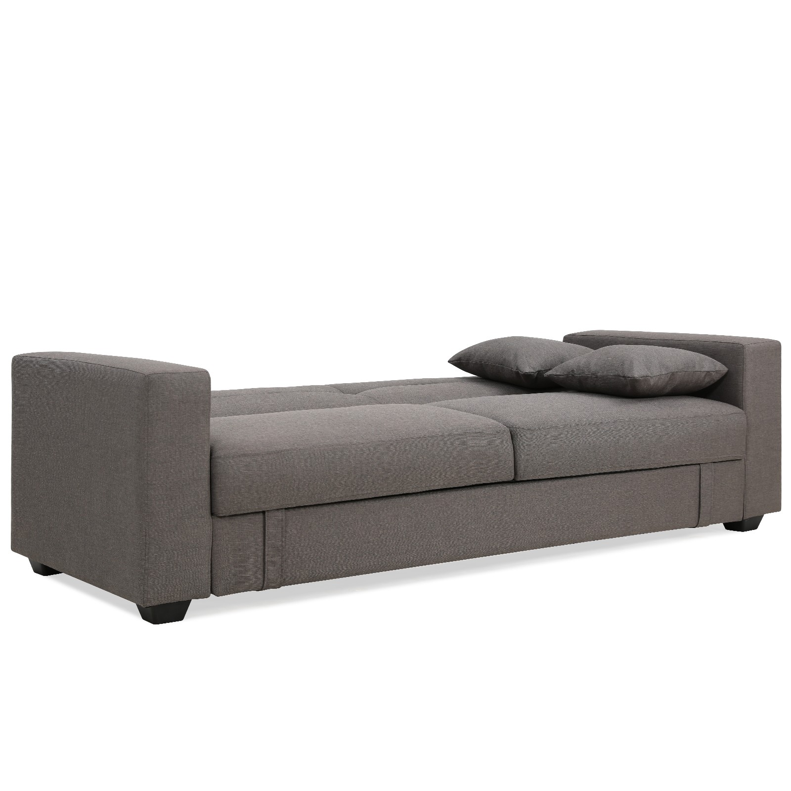 Erica Grey Fabric Sofa Bed