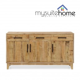Portland Solid Recycled Pine Timber Buffet