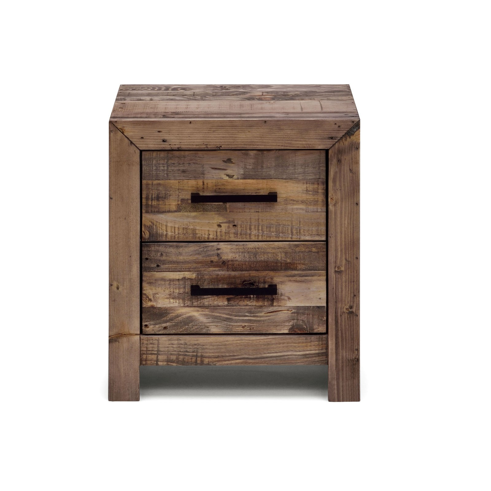 boston recycled solid pine timber bedside table storage night stand. Black Bedroom Furniture Sets. Home Design Ideas